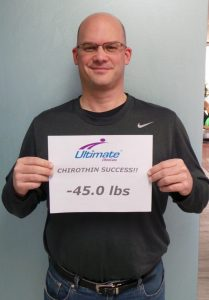 Jeff lost 45 pounds on his first round of our weight loss program